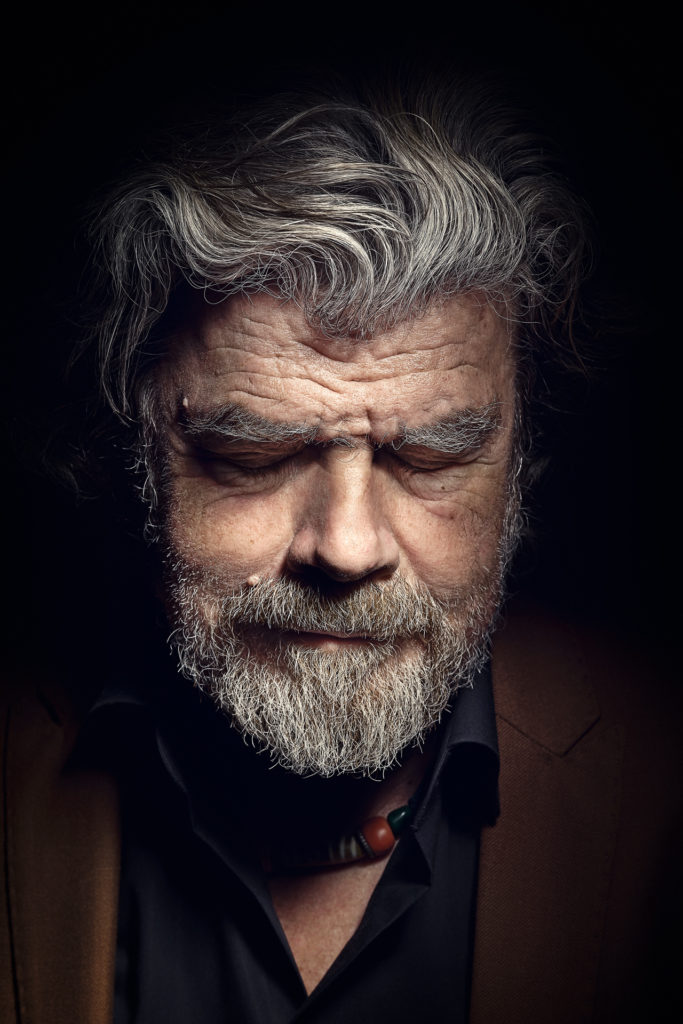 Reinhold Messner Portrait